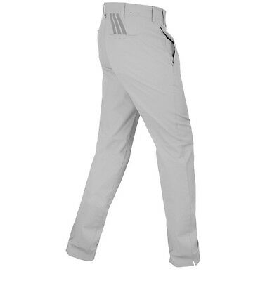 Adidas 3 Stripes Grey Trousers Tapered Fit