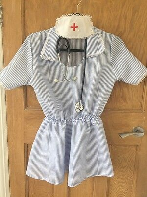 Nurse Fancy Dress Costume Size 10