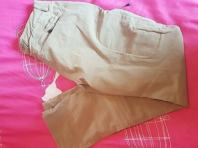 ladies craghoppers beige zip off stretch trousers