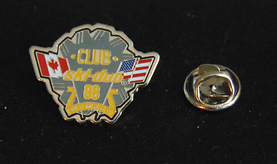Canada United States USA Ski-Doo Club Member 1998 Pin Lapel