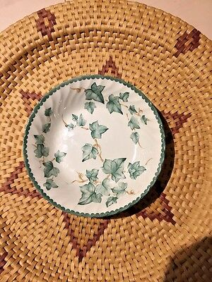 BHS Country Vine Pattern Pottery Collection Pudding/Cereal Bowls