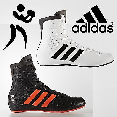 adidas Pro KO Legend 16.2 Kids Boxing Boots Boys Retro Sports Trainers Shoes