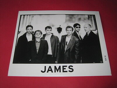 JAMES  10 x 8 inch promo photo photograph #F042_2825