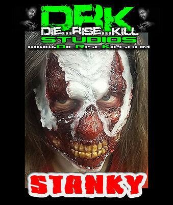 """""""Stanky"""" Clown Full face Latex Prosthetic for Cosplay / Halloween"""