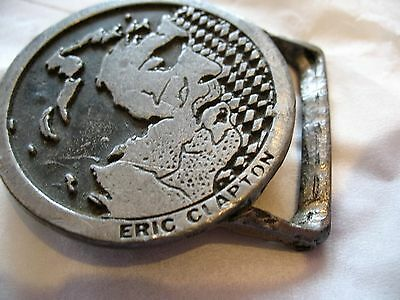 Eric Clapton Metal Belt Buckle