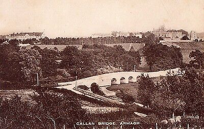 CALLAN BRIDGE ARMAGH IRELAND VALENTINES POSTCARD No. 29543