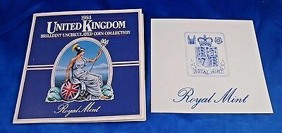 1984 United Kingdom Brilliant Uncirculated Coin Collection Royal Mint