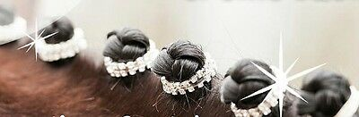Horze Crystal Plaiting Bands Horse Riding