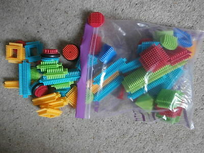 Thistle Blocks ~ Stickle Bricks Construction Toy ~ Bag