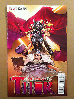 Mighty Thor (2015) #3 Simone Bianchi 1:25 Variant Cover Nm 1St Printing Marvel