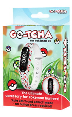 Pokemon Go-Tcha Wristband for Pokemon Go Android iPhone Datel Gotcha Brand New
