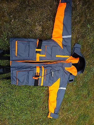 sea fishing fish eagle flotation suit size large in good condition no rips