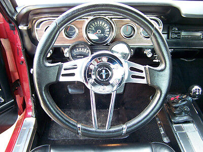 1967 1973 Mustang After Market Steering Wheel,mustang Logo, Install Kit Included