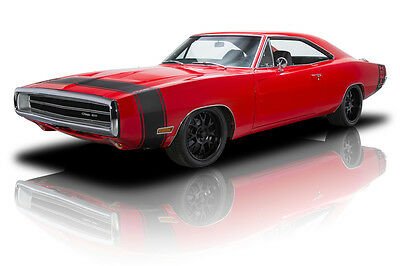 1970 Dodge Charger  Ground Up Built Charger 500 426 HEMI 5spd PS PB AC 4-link