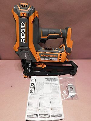 RIDGID HYPERDRIVE R09892 18-Volt Brushless 16-Gauge 2-1/2 in. Straight Nailer