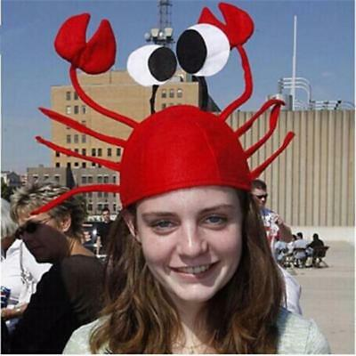 Adult/Kid's Crab Lobster Sea Animal Cute Cap Hat Party Funny Accessory NEW - FI