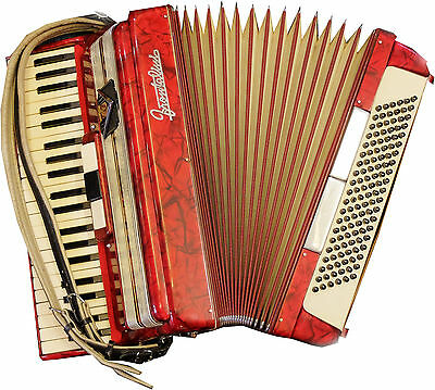 Frontalini 120 Bass Accordion Made In Italy