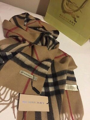 Burberry Authentic 100% Cashmare Scarf **SALE JUST FOR TODAY**
