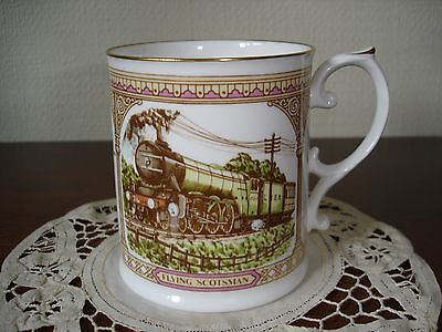 "Caverswall Mug To Commemorate The ""flying Scotsman 50Th Anniversary Non Stop Run"