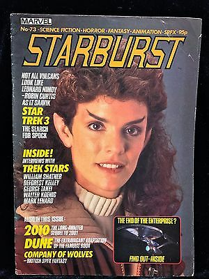 Marvel's STARBURST MAGAZINE (1984, V.7, N.1) Features: Star Trek 3, Dune, 2010