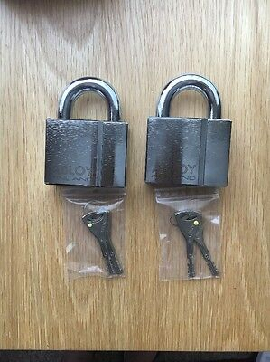 ABLOY PL350/50 CLASSIS High Security Steel Padlock /With 2 keys X2