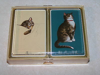 Chesapeake & Ohio Railroad Dual deck of Chessie & Peake Playing Cards