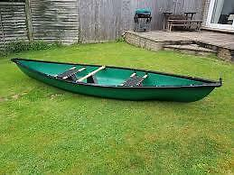 Riber Two Person Lightweight Canadian Canoe
