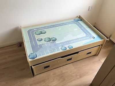 Childrens Play Table With Storage
