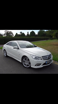 Mercedes-Benz E Class Coupe AMG Styling Package!!!
