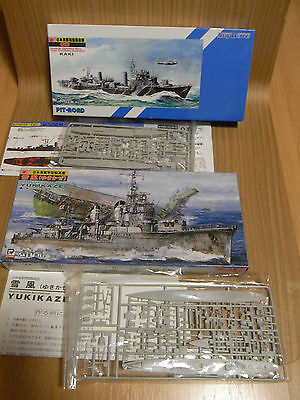 IJN Destroyers Kaki and Yukikaze  PIT-ROAD  5/25   1/700th