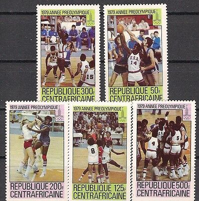 1980 MOSCOW Central Africa Olympic  MNH