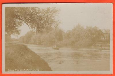 Postcard Vintage Middlesex Staines River Thames 1907