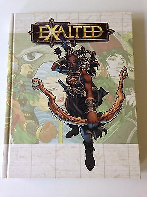 Exalted Unlimited RPG by White Wolf Publishing (Hardback, 2001)