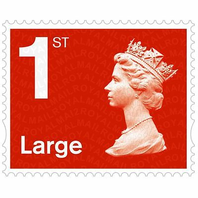 BRAND NEW ROYAL MAIL 1ST CLASS First Letter Large LETTER STAMPS Books Sheets 12