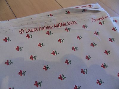 "Laura Ashley Vintage Fabric 'Wood Violet' 48""wide x24""length 100%cotton"