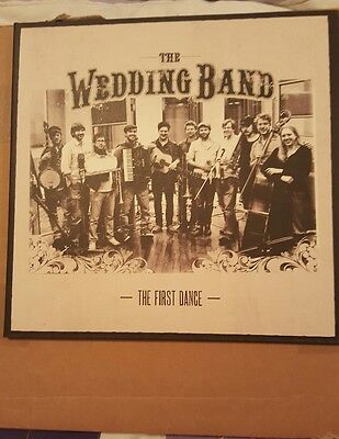 """Mumford and Sons/the Wedding Band-The First Dance  ultra rare  10""""  Vinyl 2010"""