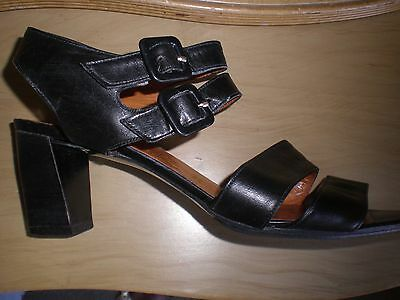 Beautiful Vintage FRENCH ROBERT CLERGERIE Leather STRAPPY Sandals/SHOES. sz 6