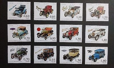 Luxembourg (2014/16) Cars of Yesteryear I, II, III (3 x sets) mint/unused
