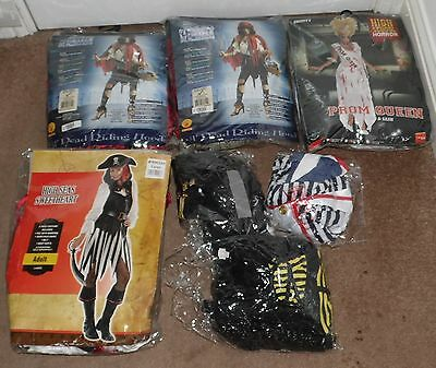 Joblot of brand new fancy dress halloween costumes Smiffy's carboot market stall