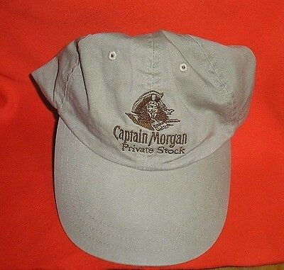 Tan Captain Morgan Private Stock Ball Cap One Size Fits Most