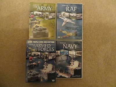 Story Of The Armed Forces (DVD, 2006, 3-Disc Set ARMY, NAVY and RAF)