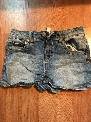 Girls Justice Jean Shorts Size 14 Euc