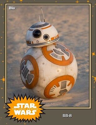 ??? MYSTERY VARIANT BB-8 ON JAKKU Topps Star Wars Trader Digital
