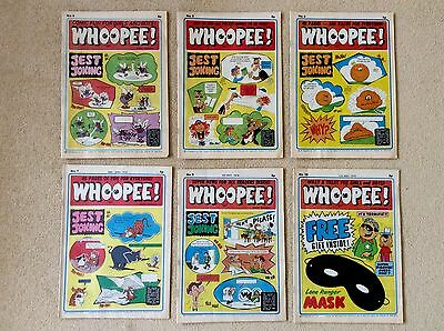6 x WHOOPEE Comics ~ 1974 ~ No's 4, 5, 6, 7, 9 and 10