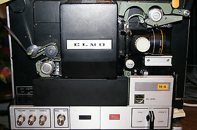 **FABULOUS** ELMO 16A 16mm Cine Film Projector