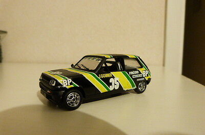Renault 5 Alpine Production Coupe Solido Top 43  Norev Vitesse Uh 1/43