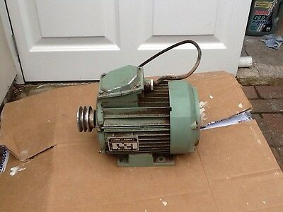 Leroy somer electric motor  3 Hp ( To Fit Startrite Circular Saw )