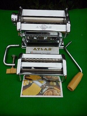 Marcato Atlas 150 Pasta Maker With Drying Rack.