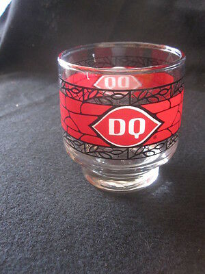 vintage dairy queen juice glass