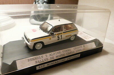 Renault 5 Alpine Turbo Groupe N Rallye Monte Carlo Provence Moulage Jps Norev